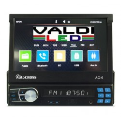 Radio 1 din gps usb bt sd