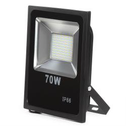 Foco Proyector LED SMD 70W Negro