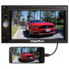 Radio pantalla doble din mirror link y bluetooth