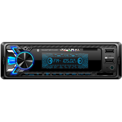 Radio usb, Sd, Aux, y bluetooth 7 colores