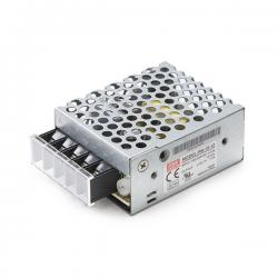 Transformador LED Meanwell 15W 230VAC/12VDC IP25