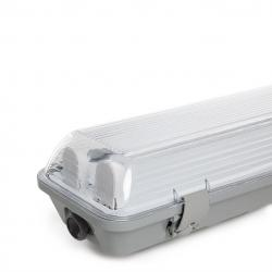 Equipo Estanco IP65 2 X Tubo LED 1200Mm ABS/Pc