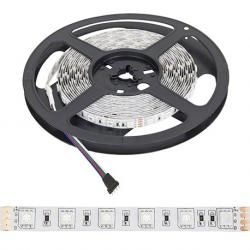 Tira LED 24VDC 300 xsmd 5050 5M RGB IP33 Interior