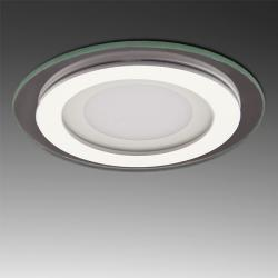 Foco Downlight LED Circular con Cristal Ø95Mm 6W 450Lm 30.000H