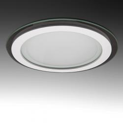 Foco Downlight LED Circular con Cristal Ø200Mm 15W 1150Lm 30.000H