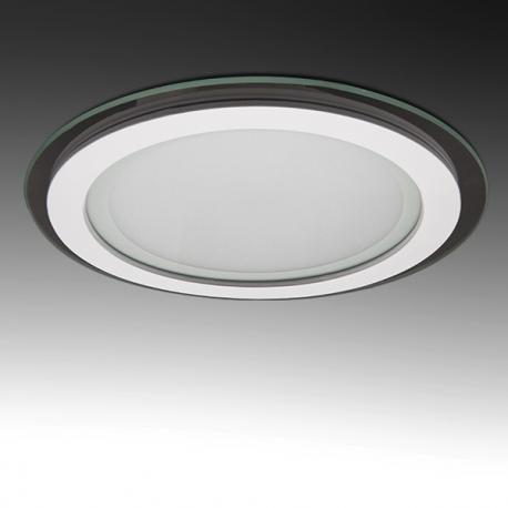 Foco Downlight LED Circular con Cristal Ø200Mm 15W 1150Lm 30.000H - Imagen 1