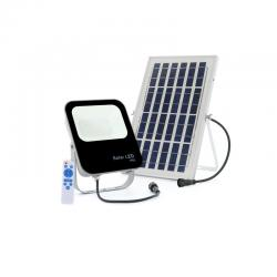 Proyector LED Solar 30W IP65 3600Lm Control Remoto