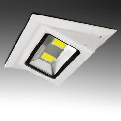 Foco Downlight LED Rectangular Basculante COB 40W 3600Lm 30.000H