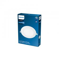 "Downlight LED Philips ""Slim"" Circular 9W 630Lm Blanco 4000K [PH-929002357601]"
