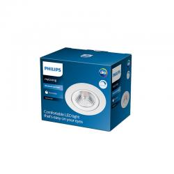"Downlight LED Philips ""Sparkle"" Circular 5,5W 350Lm Blanco 2700K [PH-929002374220]"