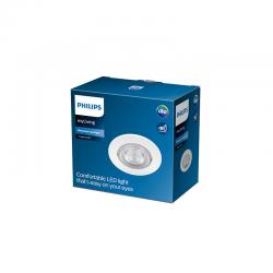 "Downlight LED Philips ""Taragon"" Circular 4,5W 380Lm Blanco 2700K [PH-929002374620]"