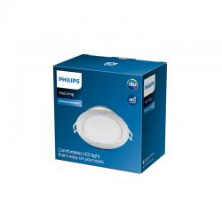 "Downlight LED Philips ""Diamond Cut"" Circular 3,5W 300Lm Plata 2700K [PH-929002515231]"