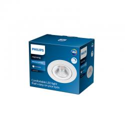 "Downlight LED Philips ""Sparkle"" Circular 5,5W 410Lm Blanco 4000K [PH-929002535620]"