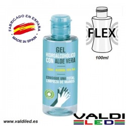 Gel hidroalcoholico aloe vera 70º 100ml