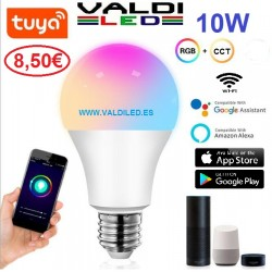 Bombilla LED E27 Smart Home 10W RGB+CCT