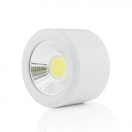 Foco Downlight LED de Superficie COB Circular Blanco Ø68Mm 5W 450Lm 30.000H - Imagen 1