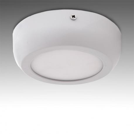 Plafón LED Circular Superficie Style 120Mm 6W 470Lm 30.000H - Imagen 1