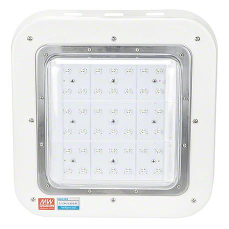 Luminaria LED Especial Gasolineras Philips/Meanwell IP65 Ik08 100W 9500Lm 100.000H - Imagen 1