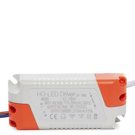 Driver No Dimable 0.95 F.P. 50.000H Downlights LED 18W - Imagen 1