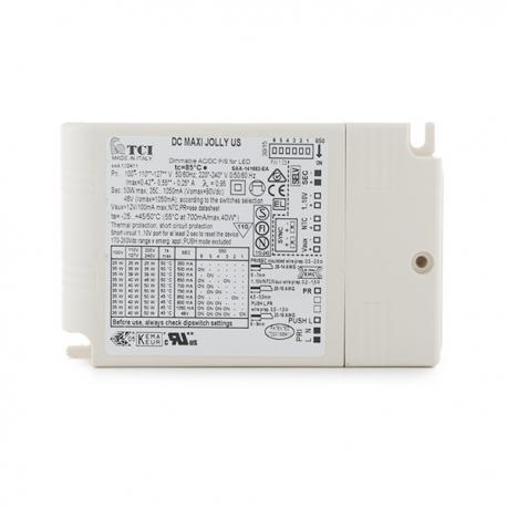 Driver LED Dimable Tci 50W 350-1050Ma - Imagen 1
