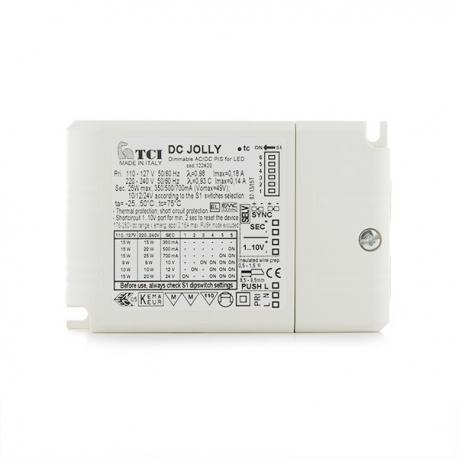 Driver LED Tci Dimable 25W 350/500/700Ma - Imagen 1