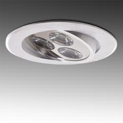 Foco Downlight LED Ecoline Circular 3W 300Lm 30.000H