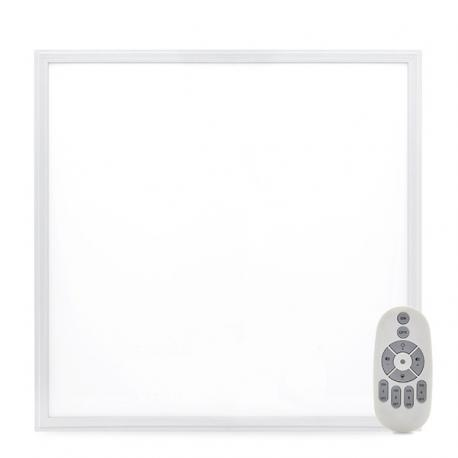 Panel LED 595X595X12Mm Marco Blanco Mando a Distancia (Intensidad-Cct) 36W 2380Lm 30.000H - Imagen 1