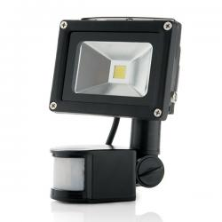 Foco Proyector LED IP65 Detector Movimiento 10W 850Lm 30.000H - Imagen 1