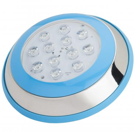 Foco de Piscina de LEDs Montaje Superficie Ø230Mm 12W Blanco Natural - Imagen 1