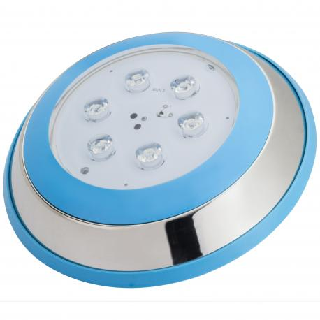 Foco de Piscina de LEDs Montaje Superficie Ø230Mm 6W Blanco Natural - Imagen 1