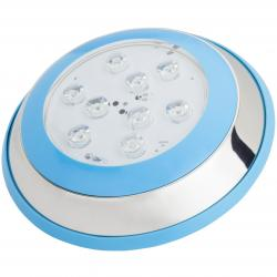 Foco de Piscina de LEDs Montaje Superficie Ø230Mm 9W Blanco Natural